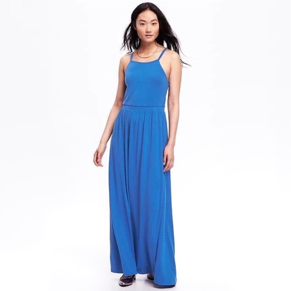 294b9fcd23b High Neck Maxi Dress. M 5b0ce6813a112efece595a96